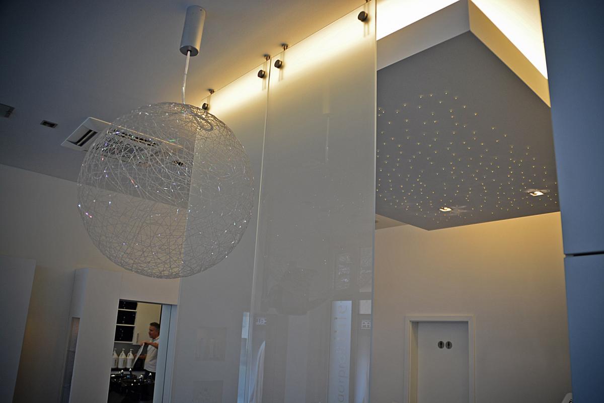 Ambiente Beleuchtung Friseursalon