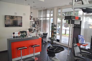 Eingangsbereich Haarprofi Ihle